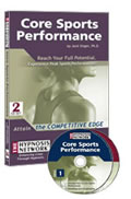 Core Sports Performance by Jack Singer, PhD. 2 CD self hypnosis set.