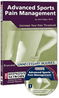 Advanced Sports Pain Management by Jack Singer, PhD. 2 CD Hypnotic Program.