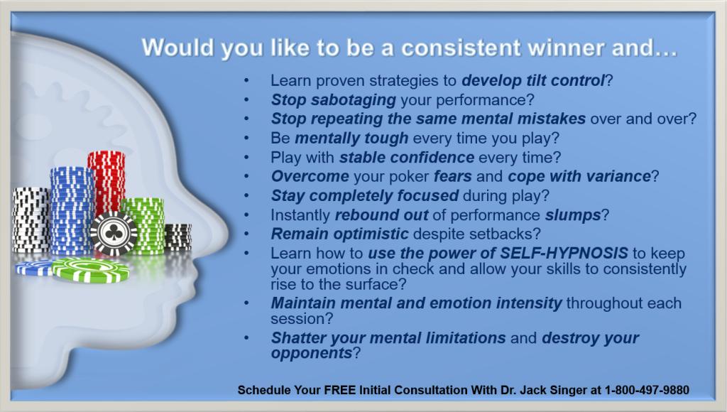 Poker Psychology questions